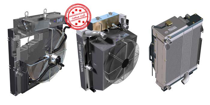 رادیاتور روغن کمپرسور، رادیاتور کمپرسور اسکرو، قیمت رادیاتور کمپرسور هوا