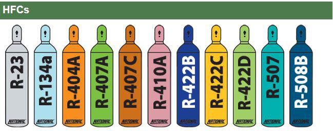 فروش گاز مبرد HFC ، قیمت گاز مبرد HFC گاز فریون