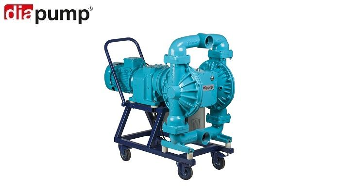 Diaphragm-Pumps-with-Electric-Motor